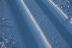 Cross-country ski run Stock Image