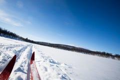 Cross Country Skies Stock Photos