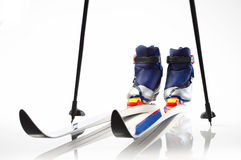 Cross country skis Stock Photo
