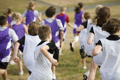 Cross Country Team Runners Royalty Free Stock Photos