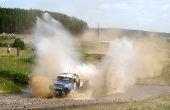 Cross-country truck race Stock Photography