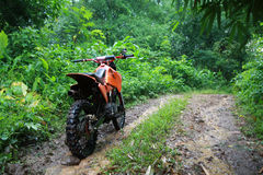 Cross country vehicle. Two wheel cross country vehicle Royalty Free Stock Images