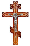 Cross. Crucifixion of the Christ Royalty Free Stock Photos