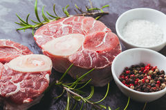 Cross cut veal shank Royalty Free Stock Photo