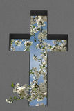 Cross Cutout Royalty Free Stock Images