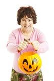 Cross-dresser di Halloween immagine stock libera da diritti