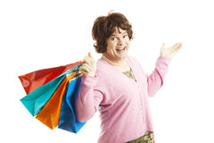 Cross Dresser - Shopping Spree Stock Photography