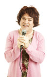 Cross Dressing Impersonator Royalty Free Stock Photography