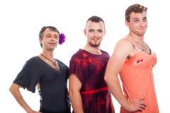 Cross-dressing transvestites stock photography