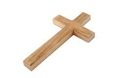 cross drewna Obrazy Royalty Free