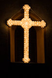 Cross at easter Royalty Free Stock Images