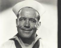 Cross eyed sailor Royalty Free Stock Photo