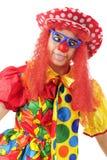 Cross-Eyes Clown Royalty Free Stock Photos