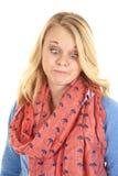 Cross eyes scarf Stock Photo