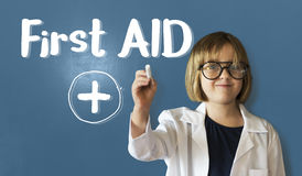 Cross First Aid Paramedic Medication Accidental Emergency Concep Stock Images