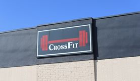 Cross-fit Gym Faciliity Stock Images