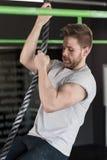 Cross fit workout Stock Photos