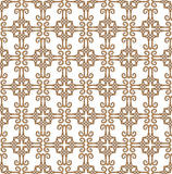 Cross flowery patterns Royalty Free Stock Photography
