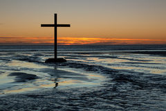 Cross Of Flowing Waters Royalty Free Stock Images