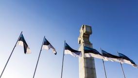 Cross Freedom in Tallinn, Estonia Stock Photography