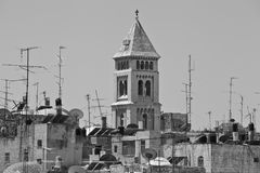 View of the Old City of Jerusalem Royalty Free Stock Image