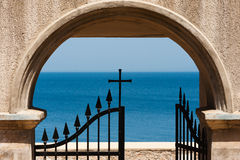 Cross Gate Sea Royalty Free Stock Photography
