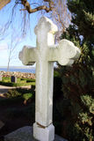 cross grób Fotografia Royalty Free