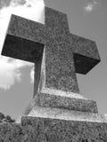 cross granitowy nagrobek Obrazy Royalty Free