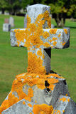 Cross and grave Royalty Free Stock Photos