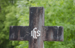 Cross Grave Royalty Free Stock Images