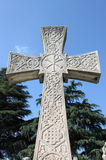 Cross gravestone Royalty Free Stock Photography
