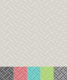 Cross hatch pattern. Seamless cross hatch pattern background with color variations Royalty Free Stock Images