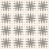 Cross hatch seamless pattern. Texture of mesh, net, web, grid, scratch pattern. Royalty Free Stock Photo