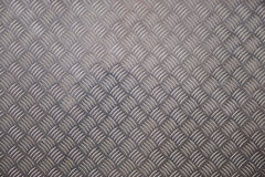 Cross-Hatched Metal Plate for Backgrounds royalty free stock images