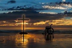 Cross Of Healing Stock Photos