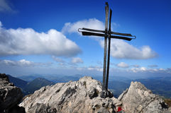 Free Cross In Mountains Stock Images - 26935024