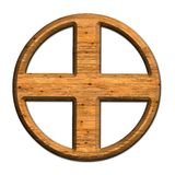 Cross. Royalty Free Stock Photography