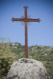 Cross isolated stock photography