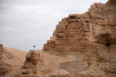 Holy land desert christianity Stock Image
