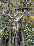 Cross and Jesus Christ, Lithuania Stock Photography