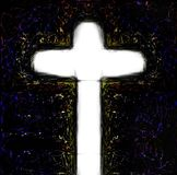 Cross of jesus christ savior. The Cross of Jesus Christ Jesus Royalty Free Stock Images