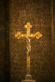Cross Jesus Sculpture Religion Stock Images