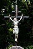 Cross with jesus Royalty Free Stock Image