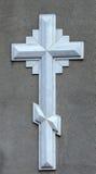cross kamień Zdjęcia Royalty Free