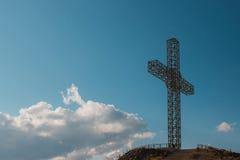 Cross in Kruševo. Royalty Free Stock Photography