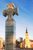 The Cross of Liberty. Tallinn, Estonia Royalty Free Stock Images
