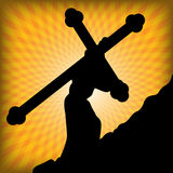 Cross of Life Royalty Free Stock Photography