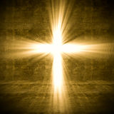 Cross light Royalty Free Stock Photo