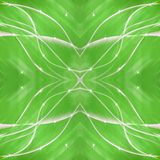 Cross line green background with star Royalty Free Stock Photos