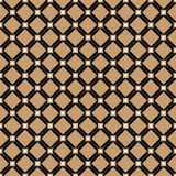 Vintage Cross gold lines vector pattern or background Stock Images